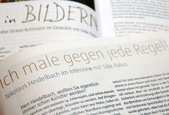 Texte und Interviews